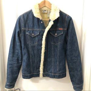 Roxy Sherpa Lined Jean Jacket